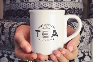 Cup of Tea Mock-up#9