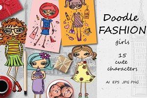 Doodle FASHION girls