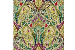 Samless Paisley Pattern