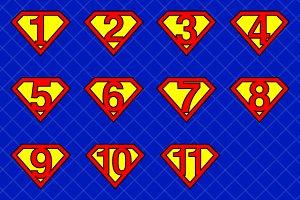Super numbers v1