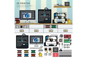 Tools for 3D printing