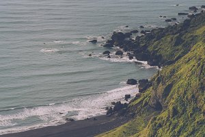 Waves at Black Sand Beach