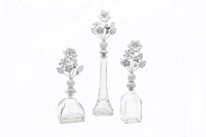 Glass vase,