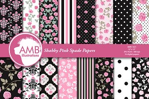 Pink Roses Papers 1421
