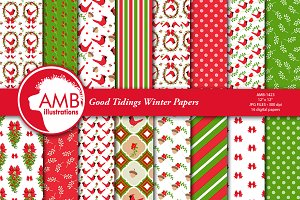 Holiday Digital  Papers 1423
