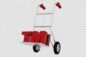 Trademark Concept - 3D Render PNG