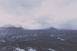 Stormy Weather over Faroe Islands