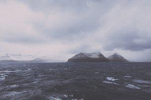 Stormy Weather over Atlantic Ocean
