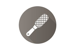 Foot rasp icon. Vector