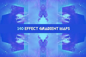 140 Effects gradient map pack