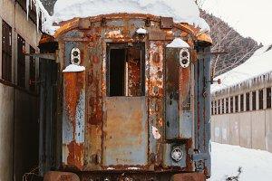 Abandoned trains