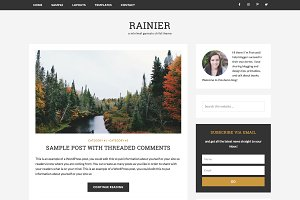 Rainier / WordPress (Genesis) Theme