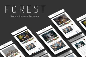 Forest - Minimal Blogging Template
