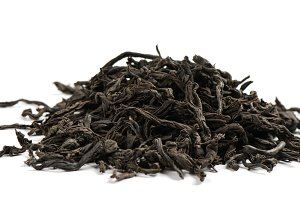 Black tea, close up.