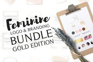 Feminine Logo & Branding Bundle