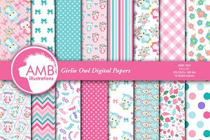 Girlie Owl Papers AMB-1503