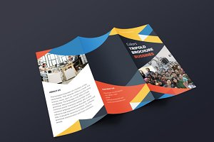 Colors Trifold Brochure