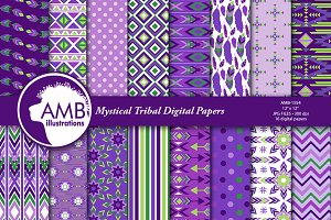 Mystical Tribal Papers AMB-1554