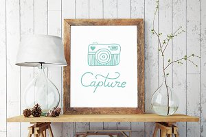 Printable Poster Capture Photography