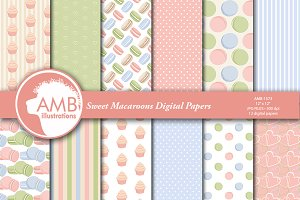 Sweet Macaroons Papers AMB-1573