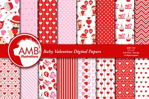 Baby Valentine Papers AMB-1581