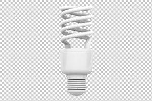 CFL - 3D Render PNG