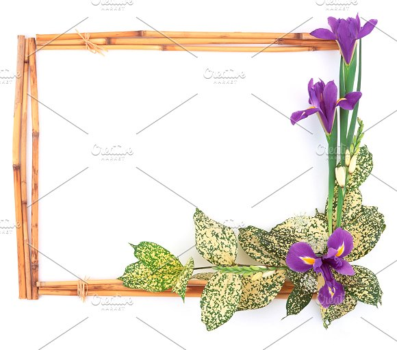 20 flower frame templates card templates on creative market