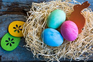 Easter holiday concept