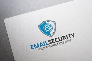Email Security Letter E Logo