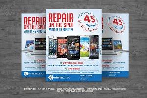 Multipurpose Gadget Repair Flyer