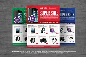 Multiporpuse Product Sales Flyer