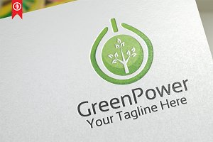 Green Power / Energy - Logo Template