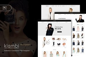 Klambi - eCommerce Fashion PSD