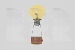 Idea hot air balloon Bulb