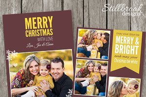 Christmas Card Template - CC14