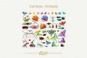 ♥ vector insects SET 2