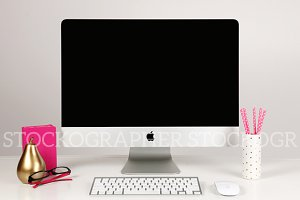 Styled Stock Imac (Set of 5 Images)