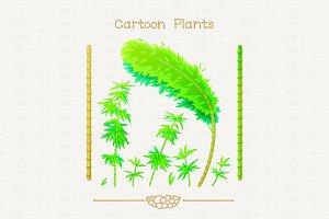 ♥ vector bamboo