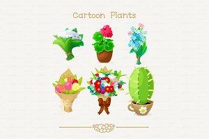 ♥ vector flowers