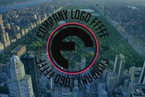 Company Logo F Logo Design