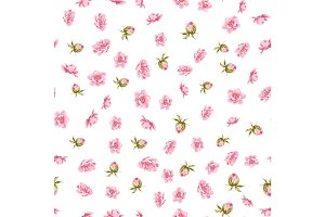 The Elegant flowers fabric.