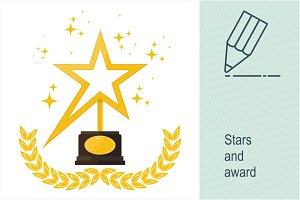 Stars and award