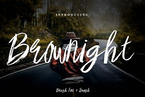 Brownight Brush Script
