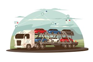 Transportation of cars