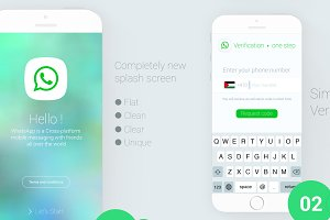 whatsapp Redesign Concept for ios