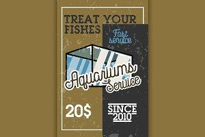 aquariums service banner
