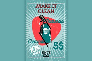 household chemicals banner