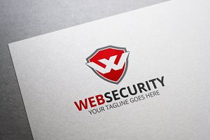 Web Security W Letter Logo