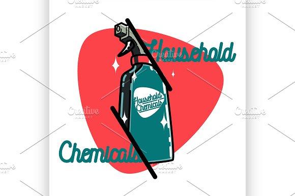 Household Chemicals Emblem