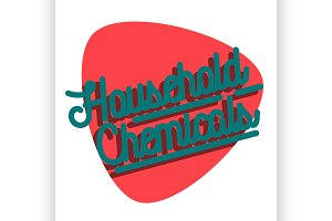 household chemicals emblem